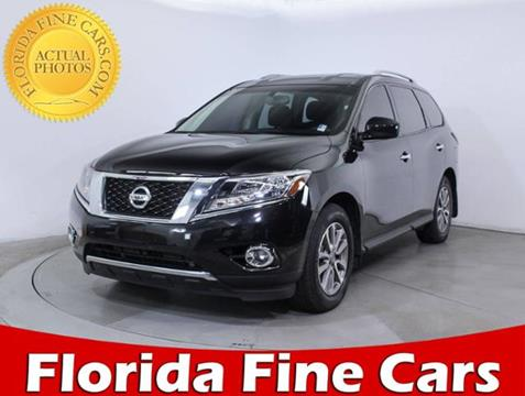 2015 Nissan Pathfinder for sale in Hollywood, FL