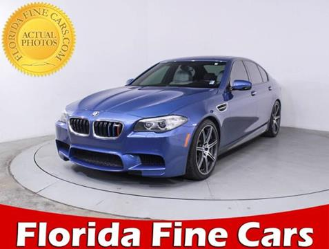 2014 BMW M5 for sale in Hollywood, FL