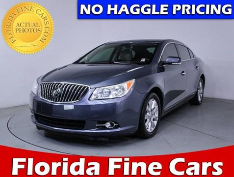 2013 Buick LaCrosse for sale in Hollywood, FL
