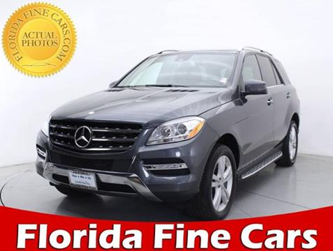 2014 Mercedes-Benz M-Class for sale in Miami, FL