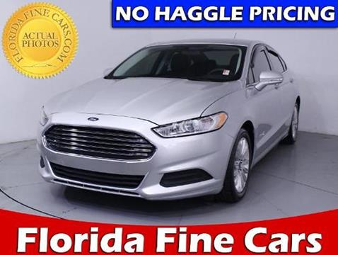 2015 Ford Fusion Hybrid for sale in Miami, FL