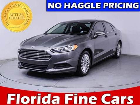 2014 Ford Fusion Hybrid for sale in Hollywood, FL