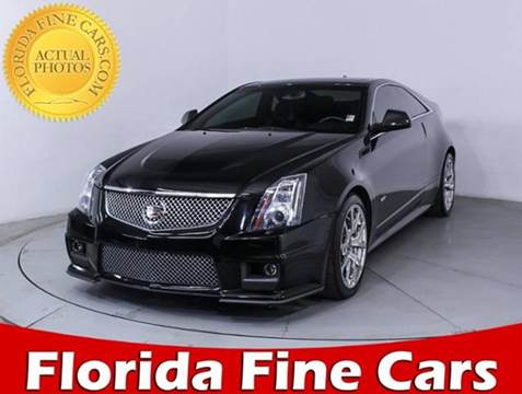 2012 Cadillac CTS-V for sale in Miami, FL