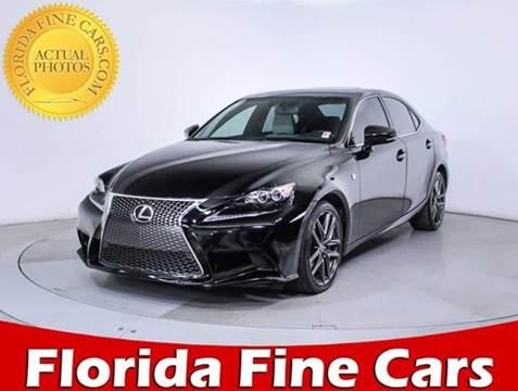 2014 Lexus IS 350 for sale in Miami, FL