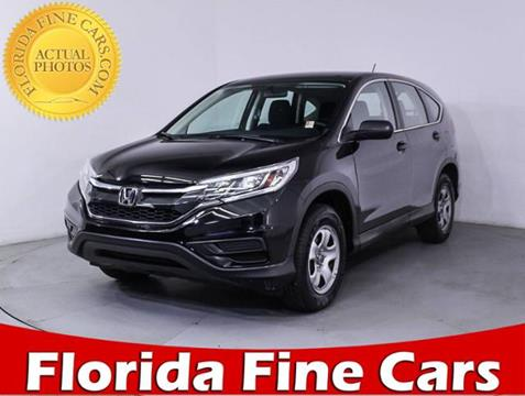2016 Honda CR-V for sale in Miami, FL