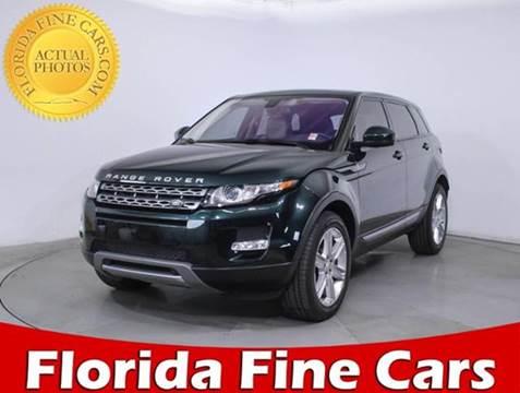 2014 Land Rover Range Rover Evoque for sale in Miami, FL