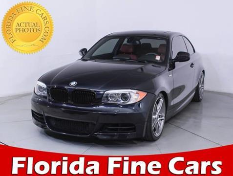 2013 BMW 1 Series for sale in Miami, FL