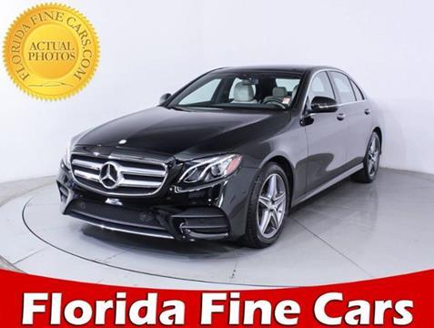 2017 Mercedes-Benz E-Class for sale in Miami, FL