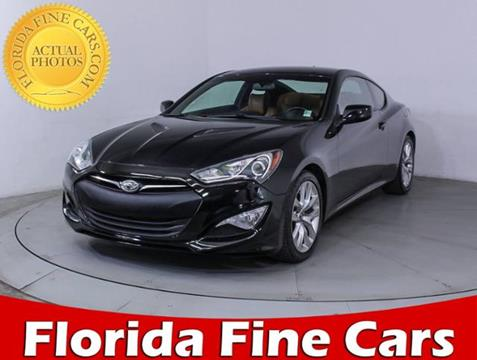 2014 Hyundai Genesis Coupe for sale in Miami, FL