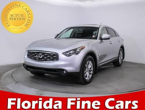 2011 Infiniti FX35 for sale in Miami, FL
