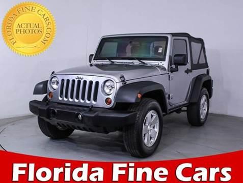 2013 Jeep Wrangler for sale in Miami, FL