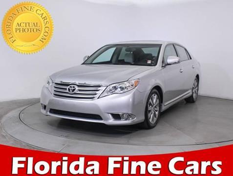 2012 Toyota Avalon for sale in Miami, FL