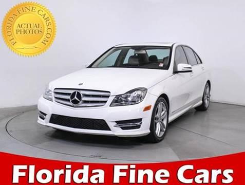 2013 Mercedes-Benz C-Class for sale in Miami, FL