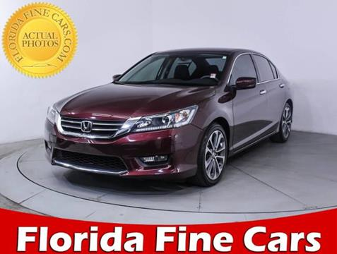 2015 Honda Accord for sale in Miami, FL