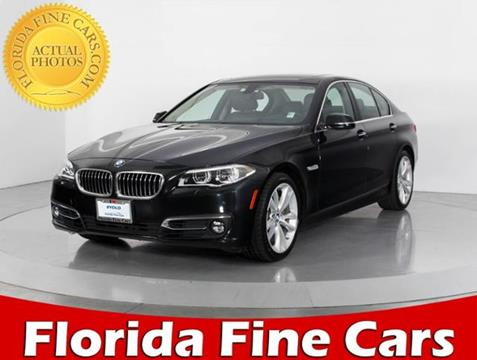 2014 BMW 5 Series for sale in Miami, FL