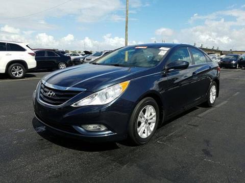 2013 Hyundai Sonata for sale in Hollywood, FL