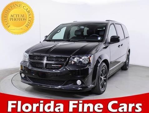 2017 Dodge Grand Caravan for sale in Hollywood, FL