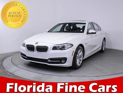 2016 BMW 5 Series for sale in Hollywood, FL