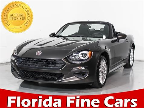 2017 FIAT 124 Spider for sale in Hollywood, FL