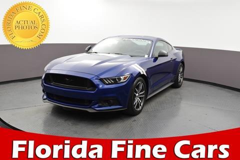 2016 Ford Mustang for sale in Hollywood, FL