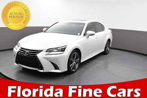 2016 Lexus GS 200t for sale in Hollywood, FL
