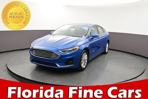 2019 Ford Fusion Hybrid for sale in Hollywood, FL