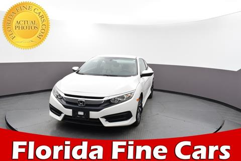 2016 Honda Civic for sale in Hollywood, FL