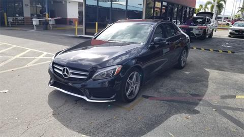 2016 Mercedes-Benz C-Class for sale in Hollywood, FL