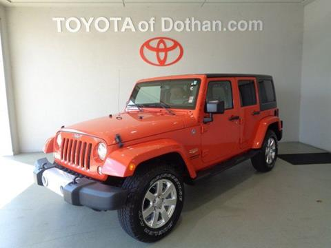 2015 Jeep Wrangler Unlimited for sale in Dothan, AL