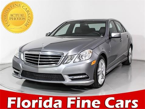 2012 Mercedes-Benz E-Class for sale in Miami, FL