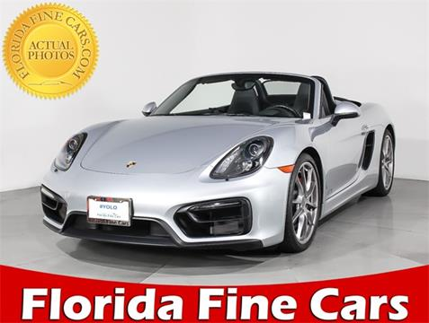 2015 Porsche Boxster for sale in Miami, FL