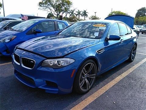2013 BMW M5 For Sale >> 2013 Bmw M5 For Sale In Miami Fl