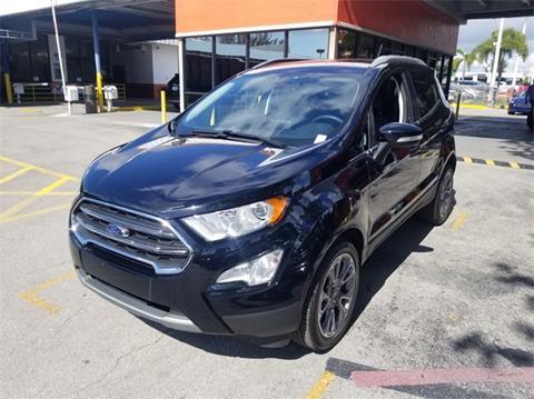 2019 Ford EcoSport for sale in Miami, FL