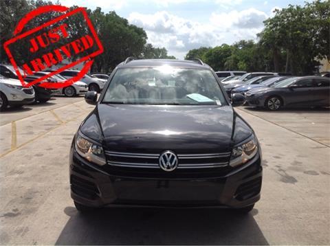 2016 Volkswagen Tiguan for sale in Miami, FL