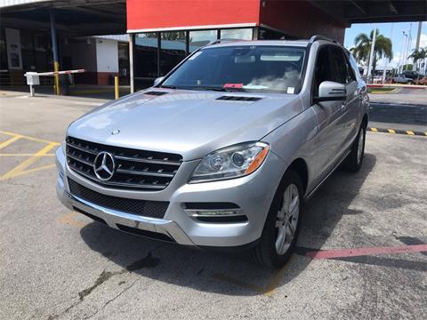 Mercedes Benz Of Miami >> 2014 Mercedes Benz M Class For Sale In Miami Fl