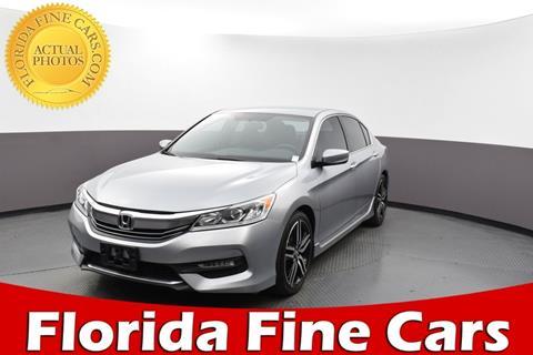 2017 Honda Accord for sale in Miami, FL