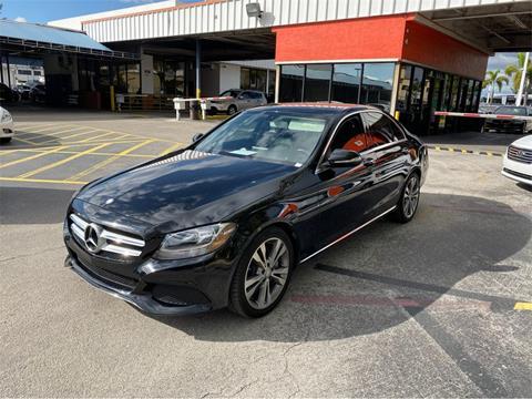 2015 Mercedes-Benz C-Class for sale in Miami, FL