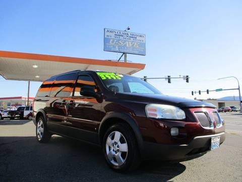 2007 Pontiac Montana for sale in East Wenatchee, WA