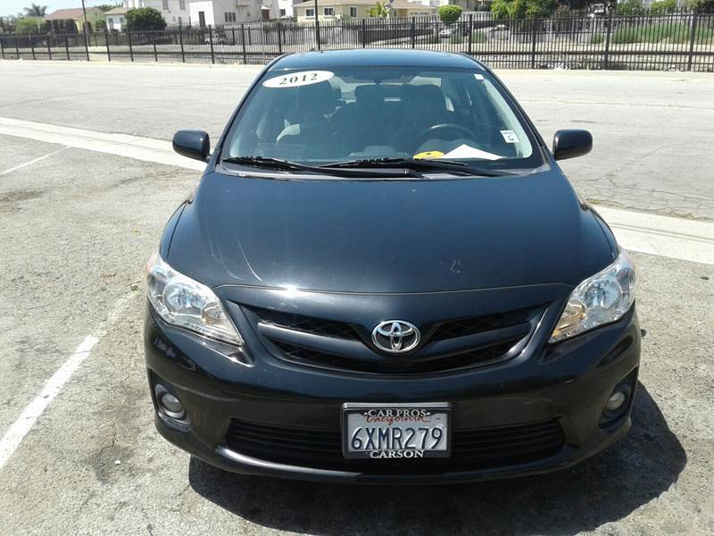 2012 Toyota Corolla For Sale At EXPRESS SALES In Los Angeles CA