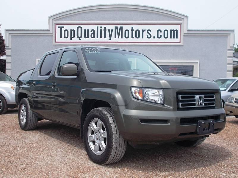 Captivating 2006 Honda Ridgeline For Sale At Top Quality Motors In Ashland MO