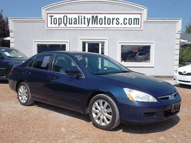 2007 Honda Accord For Sale At Top Quality Motors In Ashland MO