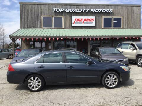 2006 Honda Accord EX V-6 for sale at Top Quality Motors & Tire Pros in Ashland MO