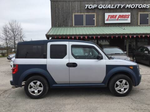 2005 Honda Element EX for sale at Top Quality Motors & Tire Pros in Ashland MO