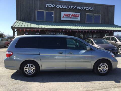 2007 Honda Odyssey EX for sale at Top Quality Motors & Tire Pros in Ashland MO
