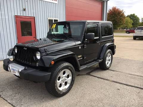 2014 Jeep Wrangler for sale in North Liberty, IA