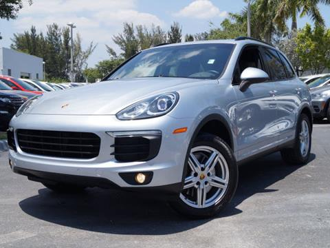 2016 Porsche Cayenne for sale in Miami, FL