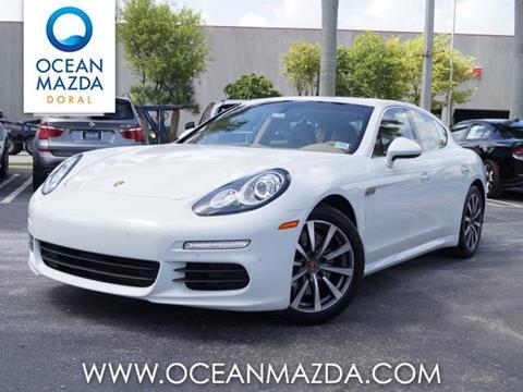 2014 Porsche Panamera for sale in Miami FL