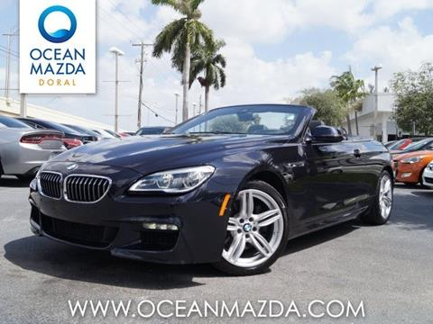 2016 BMW 6 Series for sale in Miami FL