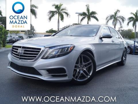2014 Mercedes-Benz S-Class for sale in Miami FL
