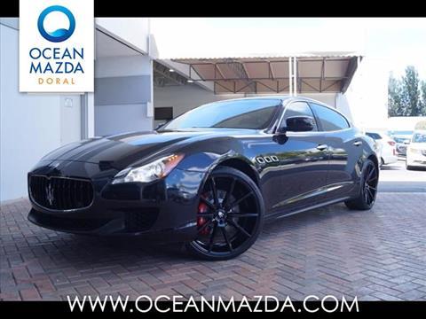 2014 Maserati Quattroporte for sale in Miami FL